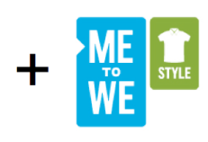 Me to We Style Logo